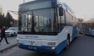 Belediye otobüsünün ani fren yapması sonucu 4 kişi yaralandı
