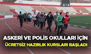 Askeri ve Polis Okulları İçin Ücretsiz Hazırlık Kursları Başladı
