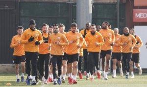 Galatasaray dayanıklılık çalıştı