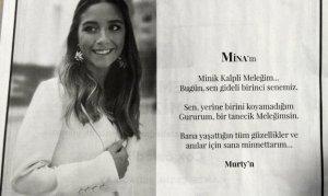 Murat Gezer'den anlamlı ilan