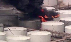 ABD'de benzin deposu patladı: 2 yaralı