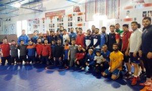 Grekoromen Güreş Milli Takımı kampa girdi