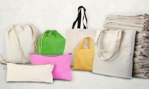 20 kadın bez çanta dikti
