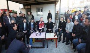 Milli Savunma Bakanı Akar, Şırnak esnafını ziyaret etti
