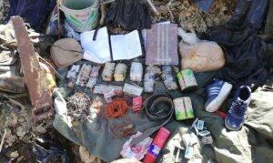 Cudi Dağı'nda teröristlere ait mühimmat ele geçirildi