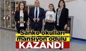 Sanko okulları mansiyon ödülü kazandı