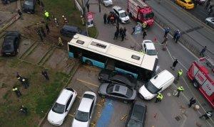 Beyazıt'taki kazada otobüs şoförüne tutuklama istemi