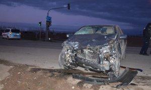 Elbistan'da trafik kazasında 1 kişi ağır yaralandı