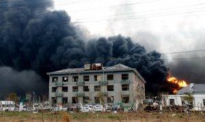 Çin'de kimya tesisi patlamasında ölü sayısı 78'e yükseldi