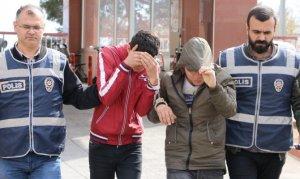 Kahramanmaraş'ta tepsi hırsızları tutuklandı