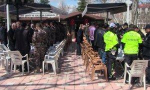 Elbistan'da şehit polis için mevlit okutuldu