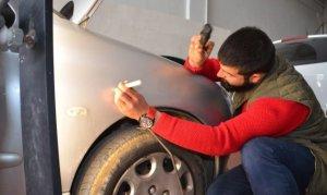Kahramanmaraş'ta  araç göçükcüleri iyi iş yapıyor