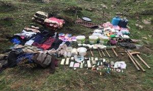 Bingöl'de PKK'nın 4 odalı sığınağı imha edildi