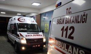 Kahramanmaraş'ta Durakta otobüs beklerken canlarından oluyorlardı