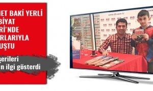 Ahmet Baki Yerli Edebiyat Şehri'nde okurlarıyla buluştu