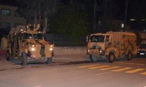 Gece yarısı Suriye sınırına komanda takviyesi yapıldı
