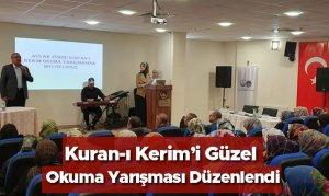 Avşar Yurdunda Kuran-ı Kerim'i Güzel Okuma Yarışması Düzenlendi