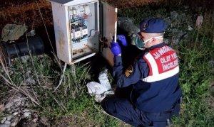 Su kuyusunun kablolarını çalan hırsızlar yakalandı