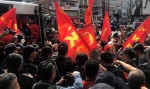 Yasa dışı eylem yapmak isteyen 36 göstericiye gözaltı