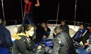 Ege Denizi'nde mülteci teknesi battı