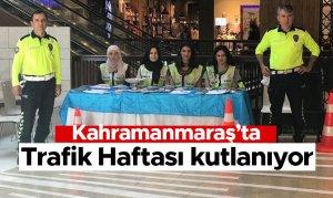 Kahramanmaraş'ta Trafik Haftası kutlanıyor