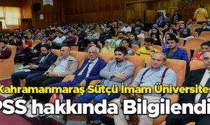 Kahramanmaraş'ta KPSS Bilgilendirme Etkinliği Gerçekleştirildi
