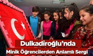 Dulkadiroğlu'nda Minik Öğrencilerden Anlamlı Sergi