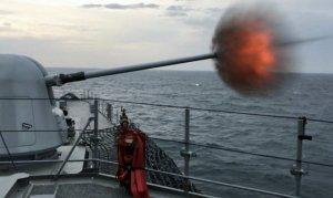 Deniz Kurdu-2019'da top atışları dosta güven, düşmana korku saldı
