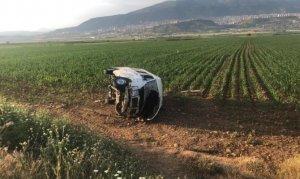 Kahramanmaraş'ta yolcu minibüsü yan yattı: Çok sayıda yaralı var