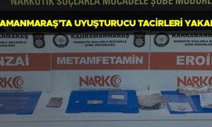 Kahramanmaraş'ta uyuşturucu tacirleri yakalandı