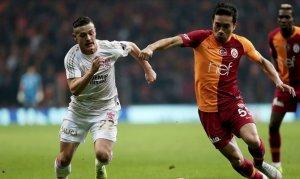Şampiyon Galatasaray sezonu Sivas'ta kapatıyor