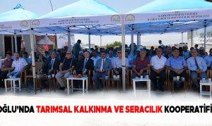 Türkoğlu'nda Tarımsal Kalkınma Ve Seracılık Kooperatifi Açıldı