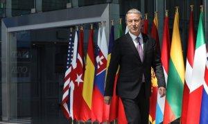 Milli Savunma Bakanı Akar, ABD'li mevkidaşı ile görüştü