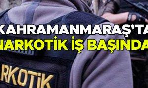 Kahramanmaraş'ta narkotik iş başında! 1 kişi tutuklandı