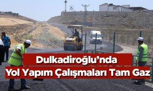 Dulkadiroğlu'nda Çevre Düzeni ve Yol Yapım Çalışmaları Tam Gaz