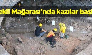 Kahramanmaraş'ta Direkli Mağarası'nda kazılar başladı