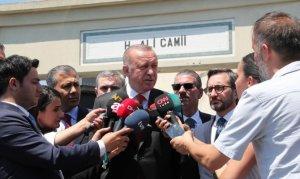 Cumhurbaşkanı Erdoğan: Aracın içerisinde bomba olduğu belli