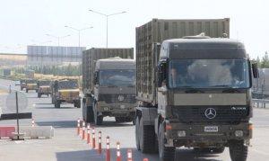 Suriye sınırına yığınak devam ediyor
