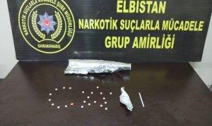 Elbistan'da uyuşturucu operasyonunda 3 şüpheli tutuklandı