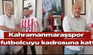 Kahramanmaraşspor 4 futbolcuyu kadrosuna kattı