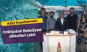 KSÜ Kayıtlarında Onikişubat Belediyesi dikkatleri çekti