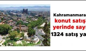 Kahramanmaraş'ta Temmuz ayında 1324 konut satıldı