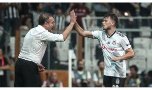 Beşiktaş, Abdullah Avcı yönetiminde ilk galibiyetini aldı