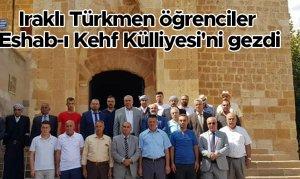 Iraklı Türk öğrenciler Eshab-ı Kehf Külliyesi'ni gezdi