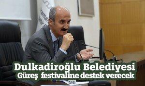 Dulkadiroğlu Belediyesi Güreş festivaline destek verecek