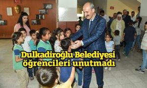 Dulkadiroğlu Belediyesi öğrencileri unutmadı
