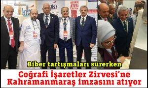 Uluslararası Coğrafi İşaretler Zirvesi'ne Kahramanmaraş imzasını atıyor