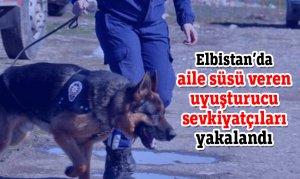 Elbistan'da aile süsü veren uyuşturucu sevkiyatçıları yakalandı