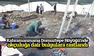 Kahramanmaraş Domuztepe Höyüğü'nde okçuluğa dair bulgulara rastlandı