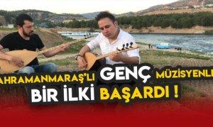 Kahramanmaraş'lı Genç Müzisyenler Bir ilki Başardı